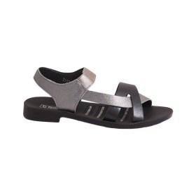 Дамски сандали 0-18-199-3 със сребърни каишки