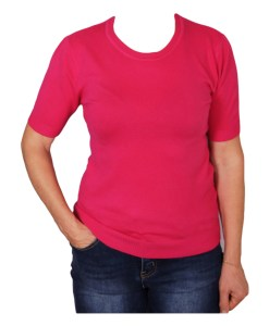 Дамски пуловер 2-397-1 цвят циклама