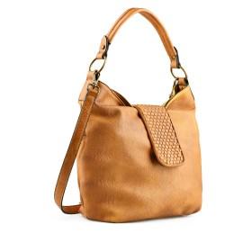 Дамска чанта 002-699-61 цвят горчица