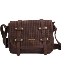 Дамска чанта 002-698-61 цвят кафяв