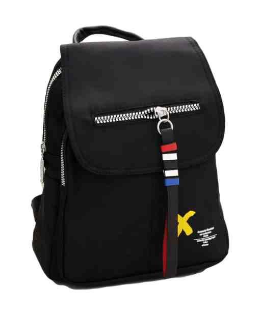 Дамска чанта 002-696-1 цвят черен