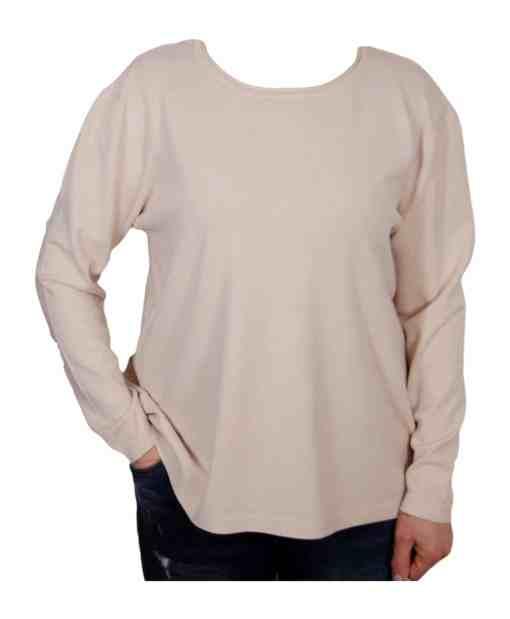 Дамски пуловер 2-384-4 цвят екрю