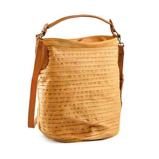Дамска чанта 002-695-4 цвят горчица