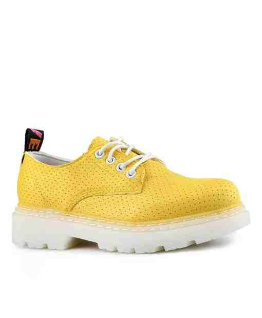 Дамски обувки 087-1жълти