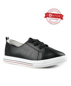 Дамски обувки естествена кожа 08-179-4цвят черен
