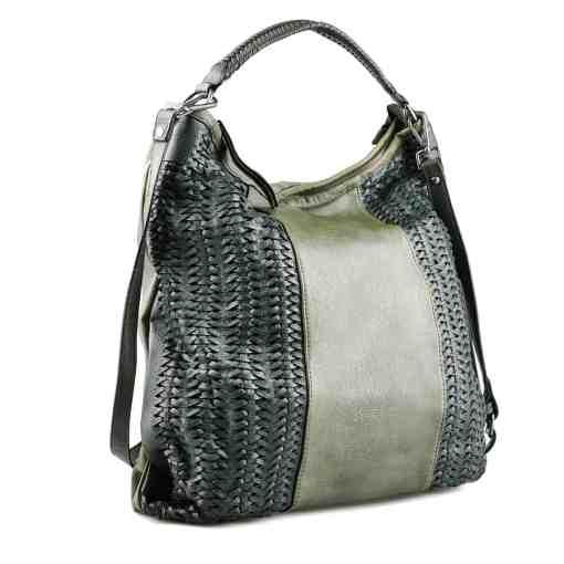 Дамска чанта 002-695-53 цвят зелен