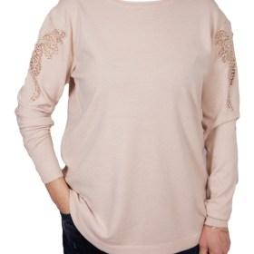 Дамски пуловер XL 2-390-53 цвят екрю