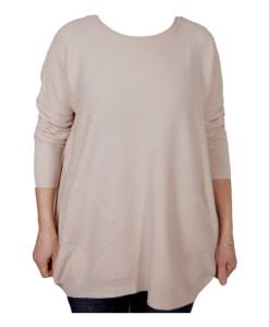 Дамски пуловер XL 2-390-5 цвят екрю