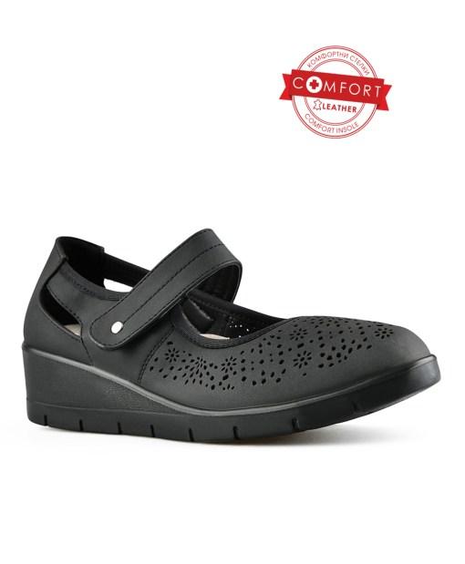Дамски обувки 085-56 цвят черни