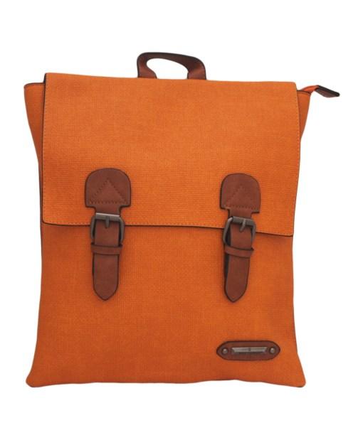 Дамска чанта 002-694-78 цвят оранжев