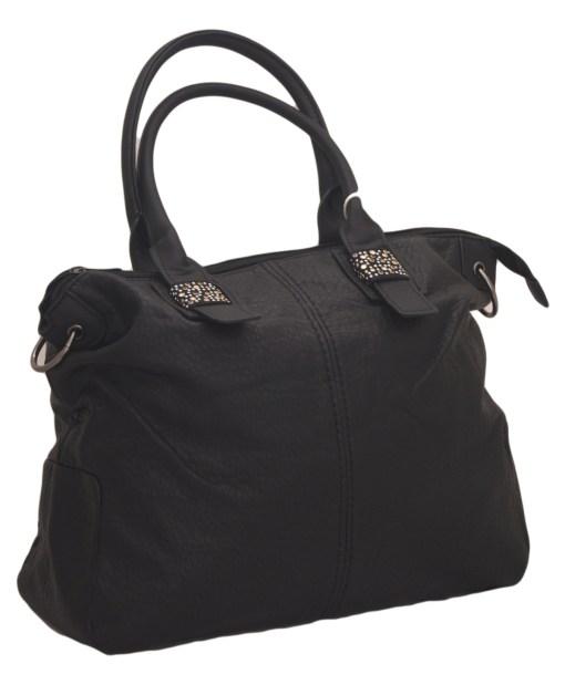 Дамска чанта 002-694-60 цвят черен