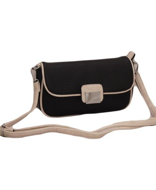 Дамска чанта 002-694-103 цвят черен
