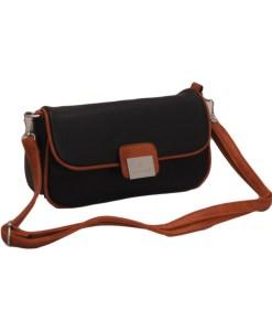 Дамска чанта 002-694-101 цвят черен