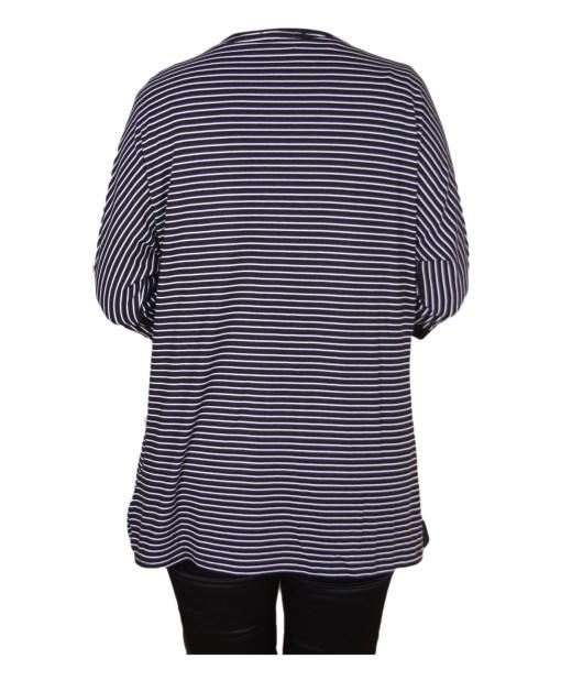 Дамска блуза XL 119-252-4 цвят черен