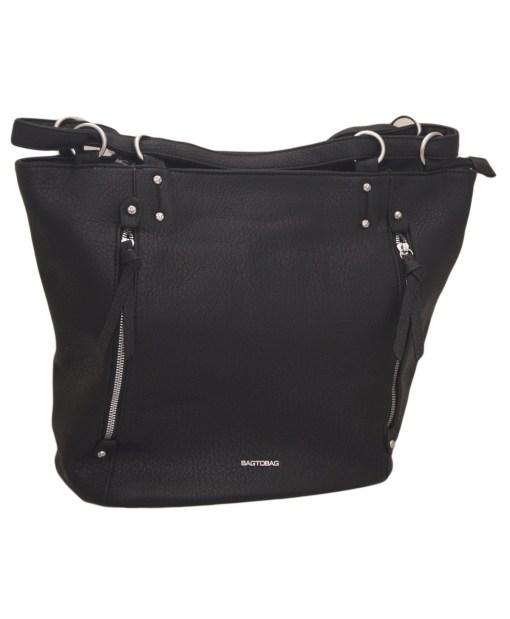 Дамска чанта 002-693-50 цвят черен
