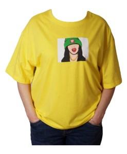 Дамска блуза 0019-563-74 цвят жълт