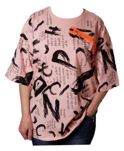 Дамска блуза 0019-563-72 цвят розов