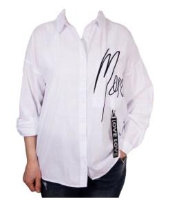 Дамска блуза 00-574-7 бяла