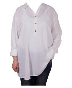 Дамска блуза 00-573-1 бяла
