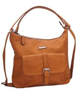 Дамска чанта 002-692-80 цвят кафяв