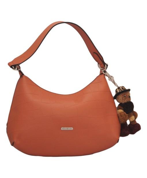Дамска чанта 002-692-63 цвят сьомга