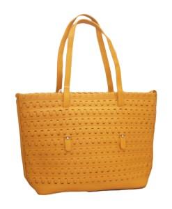 Дамска чанта 002-692-2 цвят горчица