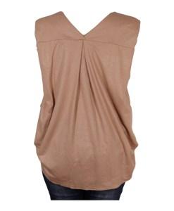 Дамска блуза 0019-562-8 цвят бежов