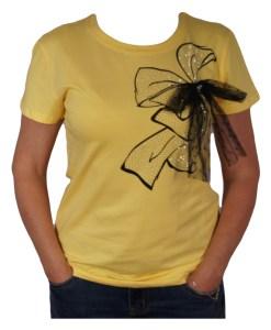 Дамска блуза 01-209-18 цвят жълт