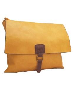 Дамска чанта 002-690-4 цвят горчица