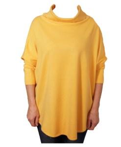 Дамска блуза XL 01-093-8 цвят горчица