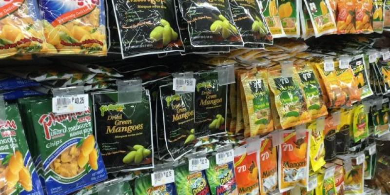 到菲律賓必買的伴手禮,除了7D以外的芒果乾