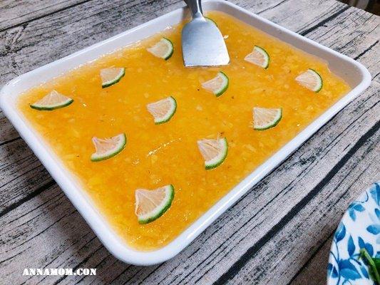 吃了誠實豆沙包的鳳梨蒟蒻凍