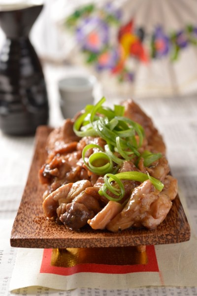 Stir-fried Chicken with Spring Onions