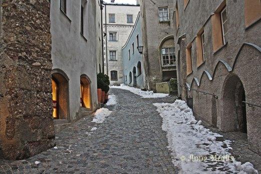 Kurzer Graben street, Hall in Tirol