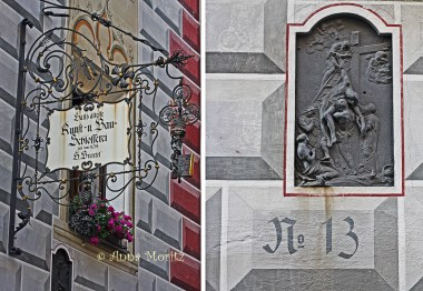 At No 13 on Schlossergasse is the oldest art and construction locksmith in Hall, dating from the 15th century