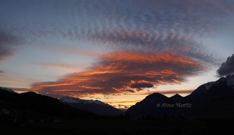 April sunset 2014