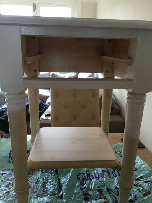 Upcycling bedside tables