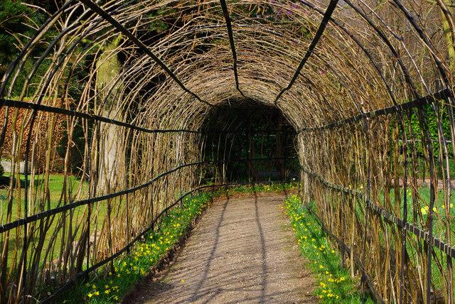 Hazel garden arch