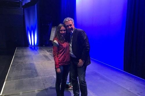 Anna und Jens Tomas auf der Bühne