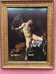 Caravaggio, Victorious Love (1601)