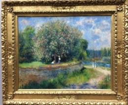 Augusta Renoir, Chestnut Tree in Blossom (1881)
