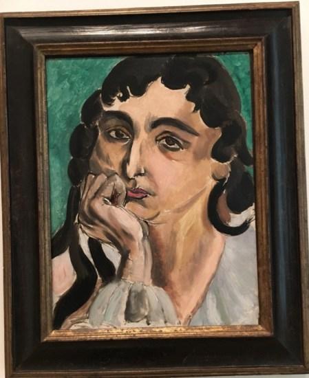 Henri Matisse, Portrait of Loretta (1917)