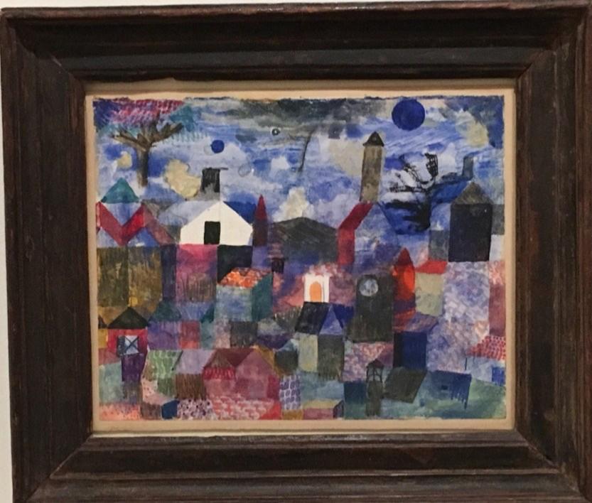 Paul Klee, Landscape in Blue (1917)