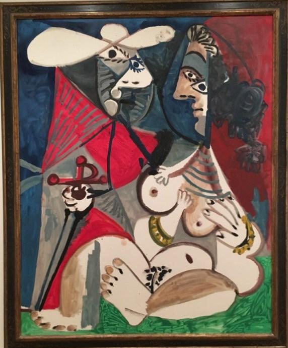 Pablo Picasso, Matador and Nude (1970)