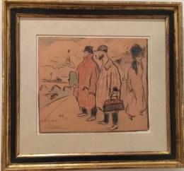 Pablo Picasso, Picasso's Arrival in Paris (1901)