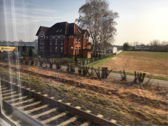 Out the train window 1