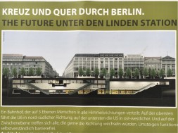 The New U5 from Alexanderplatz to the Brandenburg Gate