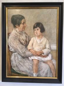 Max Liebermann, 'Martha Lieberman and her granddaughter, 1922