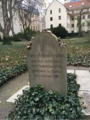 Moses Mendelssohn in the Jewish Cemetary