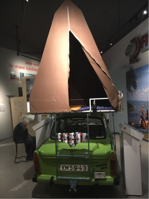 Trabant with Camping Tent (2)